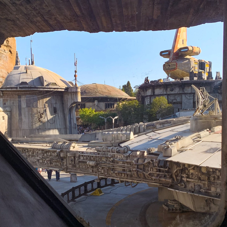 Smuggler's Run Ride Interior Galaxy's Edge Disneyland-7582
