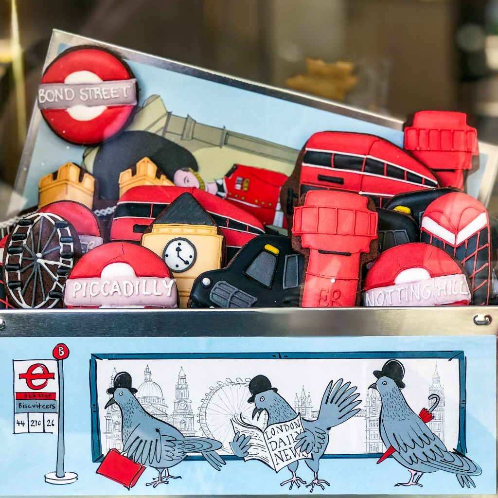 #nottinghill #biscuiteers #icedbiscuits #londonengland