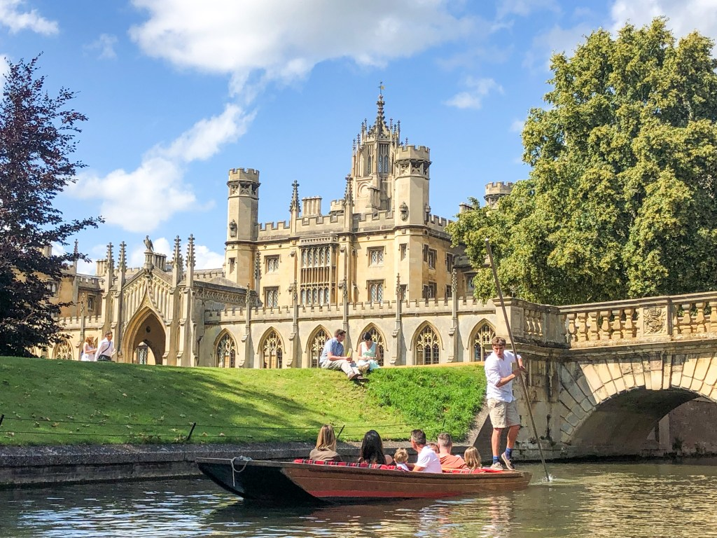 Punting on The River Cam Cambridge England 2019-8543