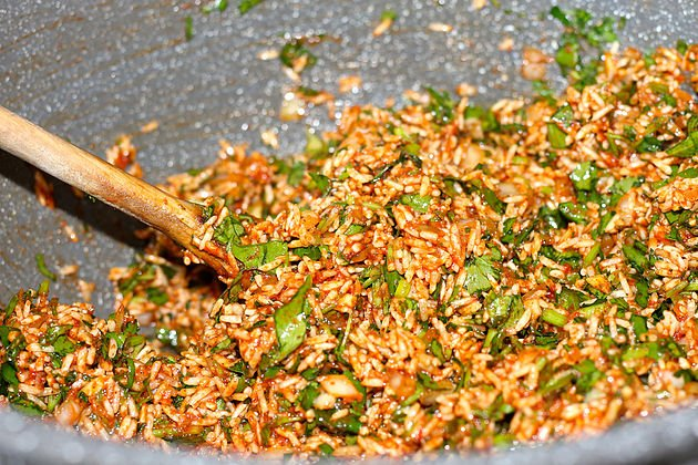 rice filling