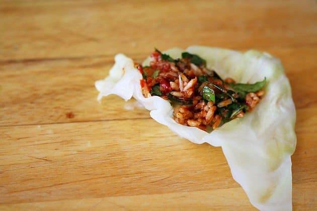 cabbage dolma