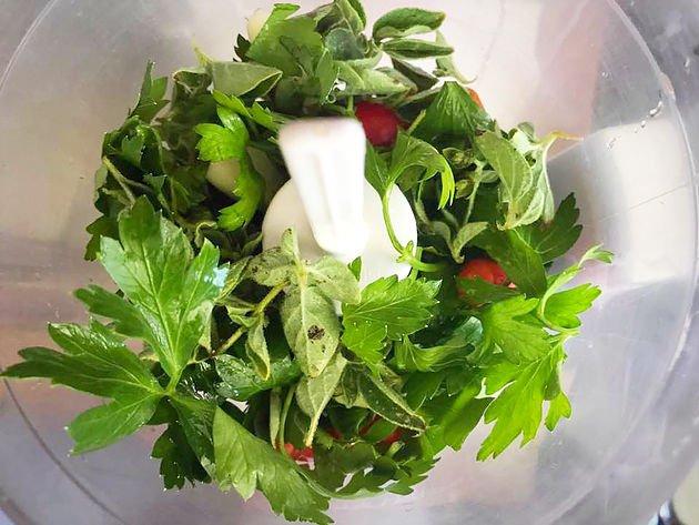 chimichurri vegetables