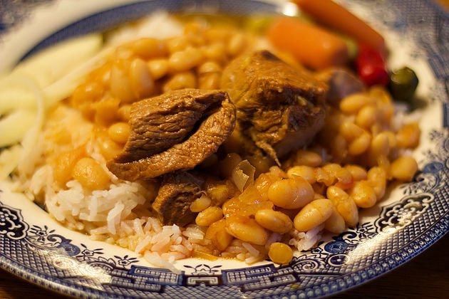 Bean and Lamb Stew (Masheh)