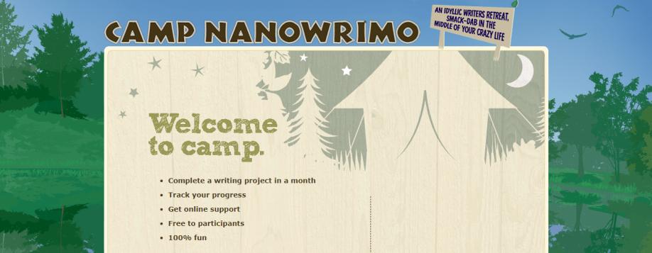 CampNaNoWriMo_Skriveevent_nettside