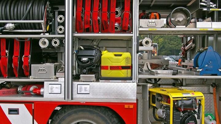 Bagger beschädigt Gasleitung in Brüggen