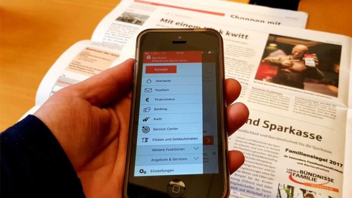 Stiftung Warentest: Sparkasse ist doppelter Sieger  bei Banking-Apps