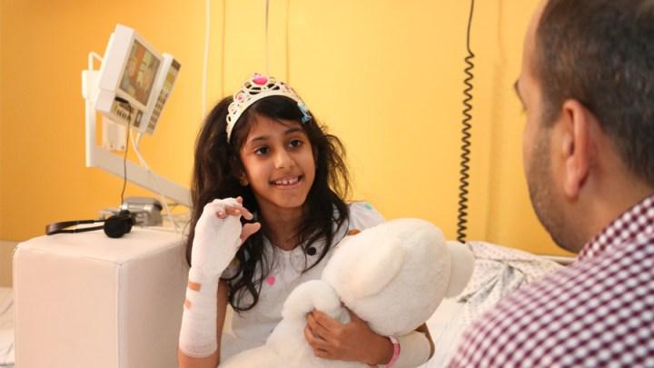 Hilfe aus erster Hand für Basima