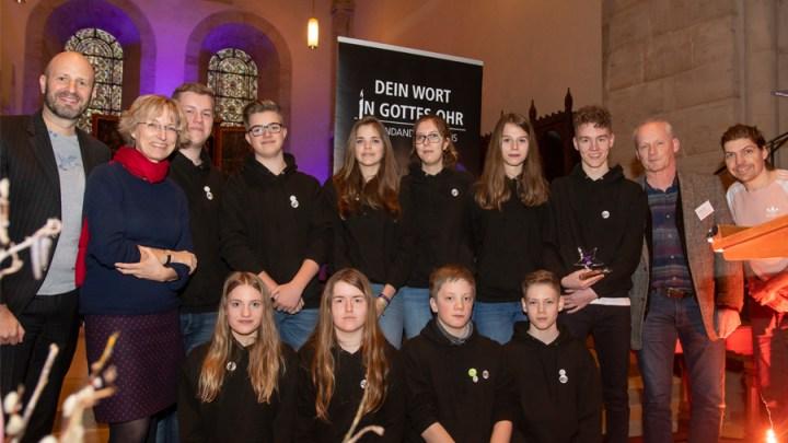 Jugendliche aus Eime belegen 2. Platz beim Jugendandachtspreis der Landeskirche