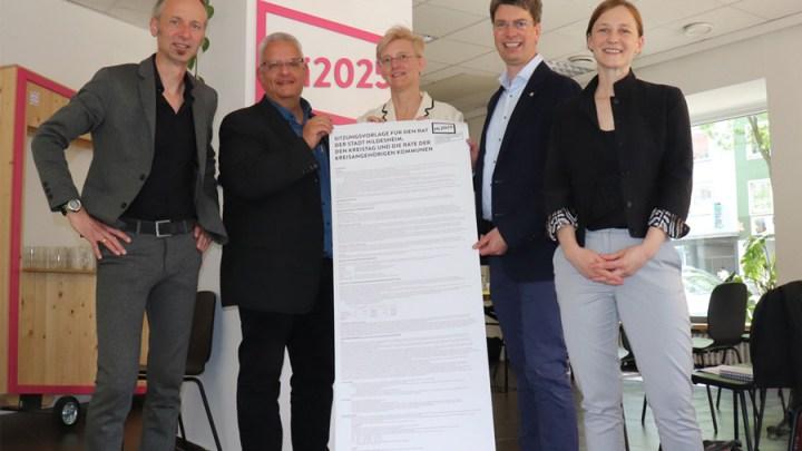 Beschlussvorschlag Kulturhauptstadtbewerbung 2025