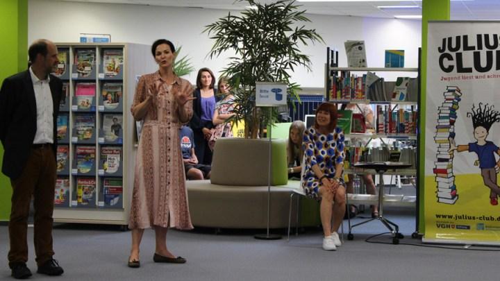 JULIUS- und Antolin-Sommerleseclubs in der Stadtbibliothek gestartet
