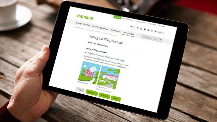 Online zum Pflegeantrag in acht Minuten: Über 18.000 Anträge im Jahr in Niedersachsen und Bremen
