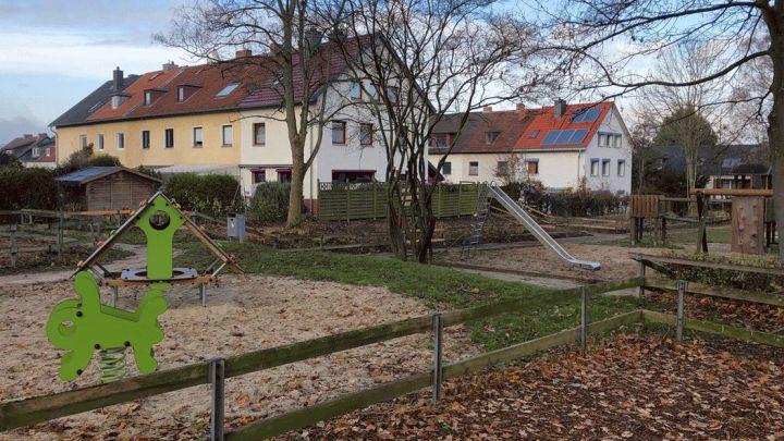 Spielplatz Rostocker Straße neu gestaltet