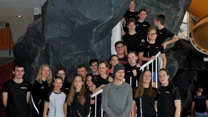 Kreisstaffelmeisterschaften am 11.01.2020 im Innerstebad Sarstedt