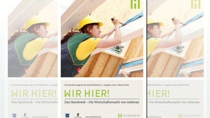 """Familienmagazin mit Schwerpunkt """"Handwerk"""""""