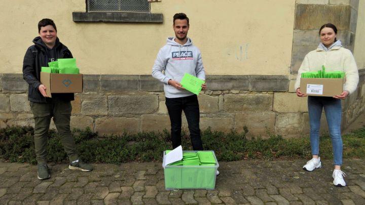 #DennochOstern: Der Kirchengemeindeverband Elze-Eime verschickt 6000 Osterlichter