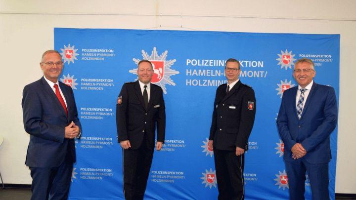 Wechsel an der Spitze: Polizeidirektor Matthias Kinzel ist neuer Leiter der Polizeiinspektion Hameln-Pyrmont/Holzminden
