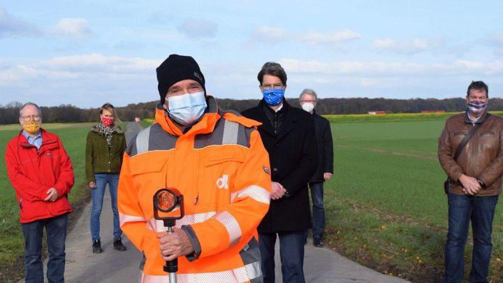 Großer Meilenstein: Vermessungsarbeiten für dritten Autobahnanschluss gestartet