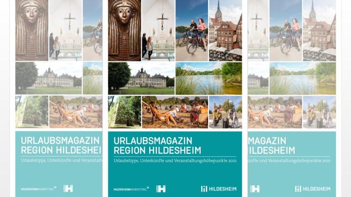 Hildesheim auf 48 Seiten: Das Urlaubsmagazin 2021