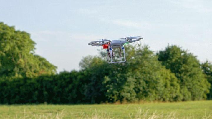 Sicherer Einsatz von Drohnen in der Landwirtschaft