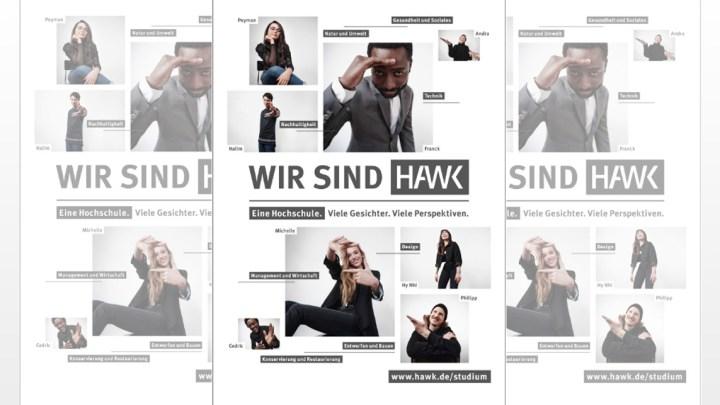 Wir sind HAWK – Kommunikationskampagne einer Hochschule mit vielen Gesichtern und vielen Perspektiven