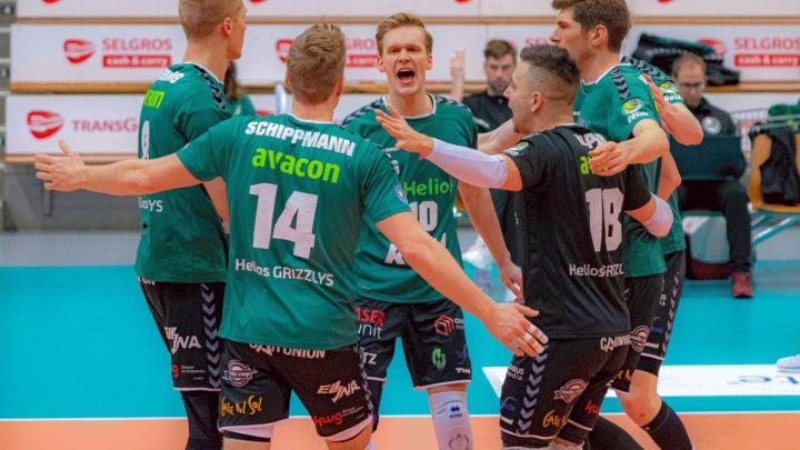 Helios GRIZZLYS gewinnen mit 3:0 gegen den VCO Berlin und klettern in der Tabelle auf Platz 4