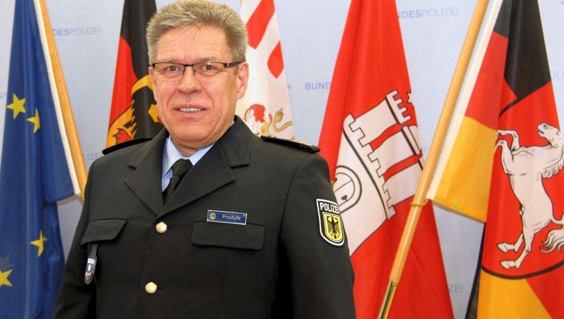 Thomas Przybyla ist seit Beginn des Jahres neuer Präsident der Bundespolizeidirektion Hannover