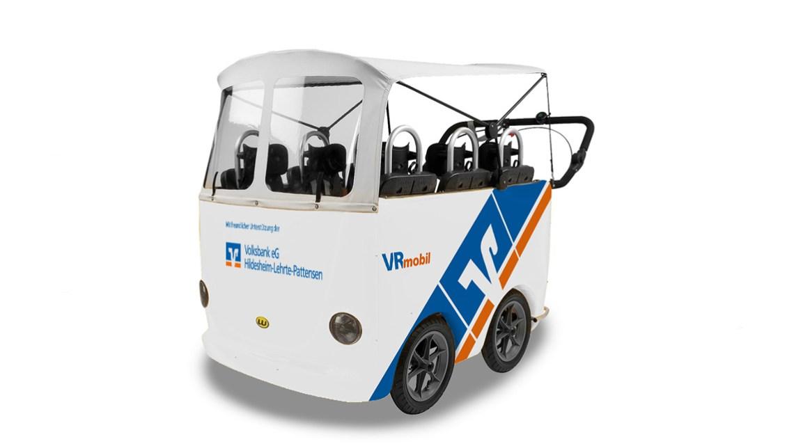 Volksbank verschenkt erneut sechs VRmobil-Kinderbusse