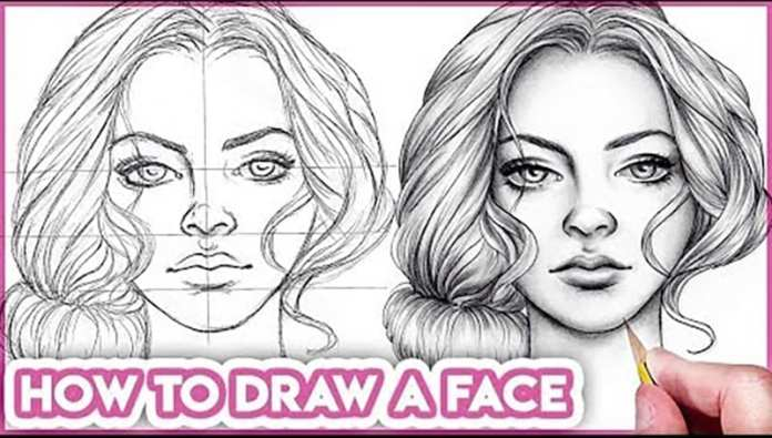 How To Draw Faces For Beginners Basic Proportions Hildur K O Art Blog Shop
