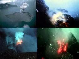 Kobaran Api di Dalam Laut