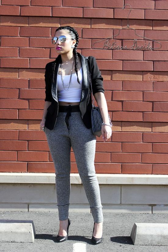 Sweats and Heels Trend-Hiliana Devila