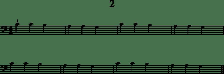 Helpot pianonuotit: 2