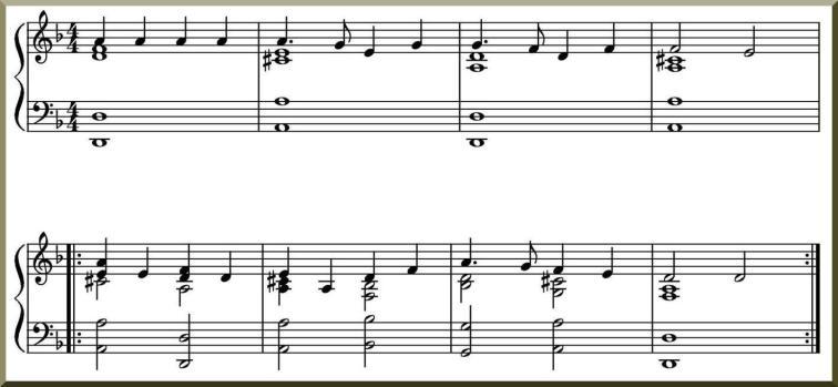Vapaa säestys pianolla