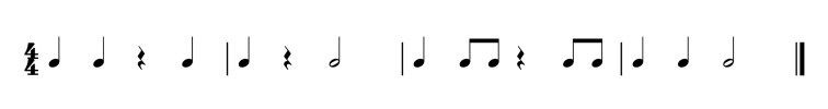 harjoitus pianolle 6