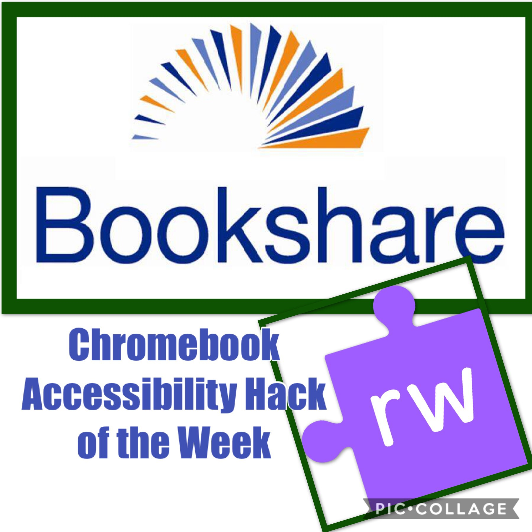 Chromebook Accessibility Hack of the Week- Bookshare Web Reader +