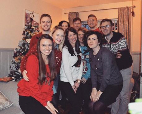 back: Dean, Caroline, Jason, Jonny & Jonny. Front: me, Rachel, Naomi, Lisa & Susie