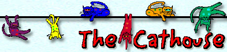 The Cathouse logo banner