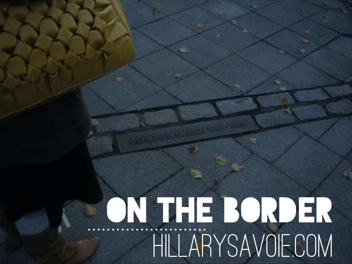 On the Border: Finish the Sentence Friday