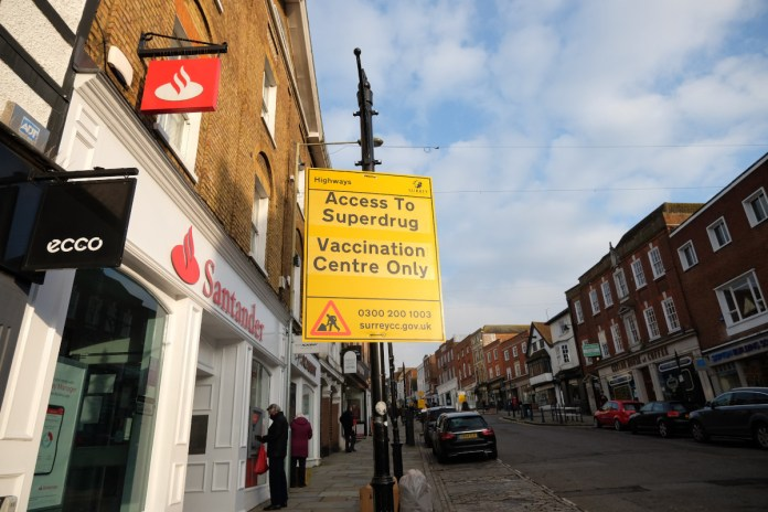 Guildford Superdrug among first 5 high street pharmacies to get COVID-19 Vaccine