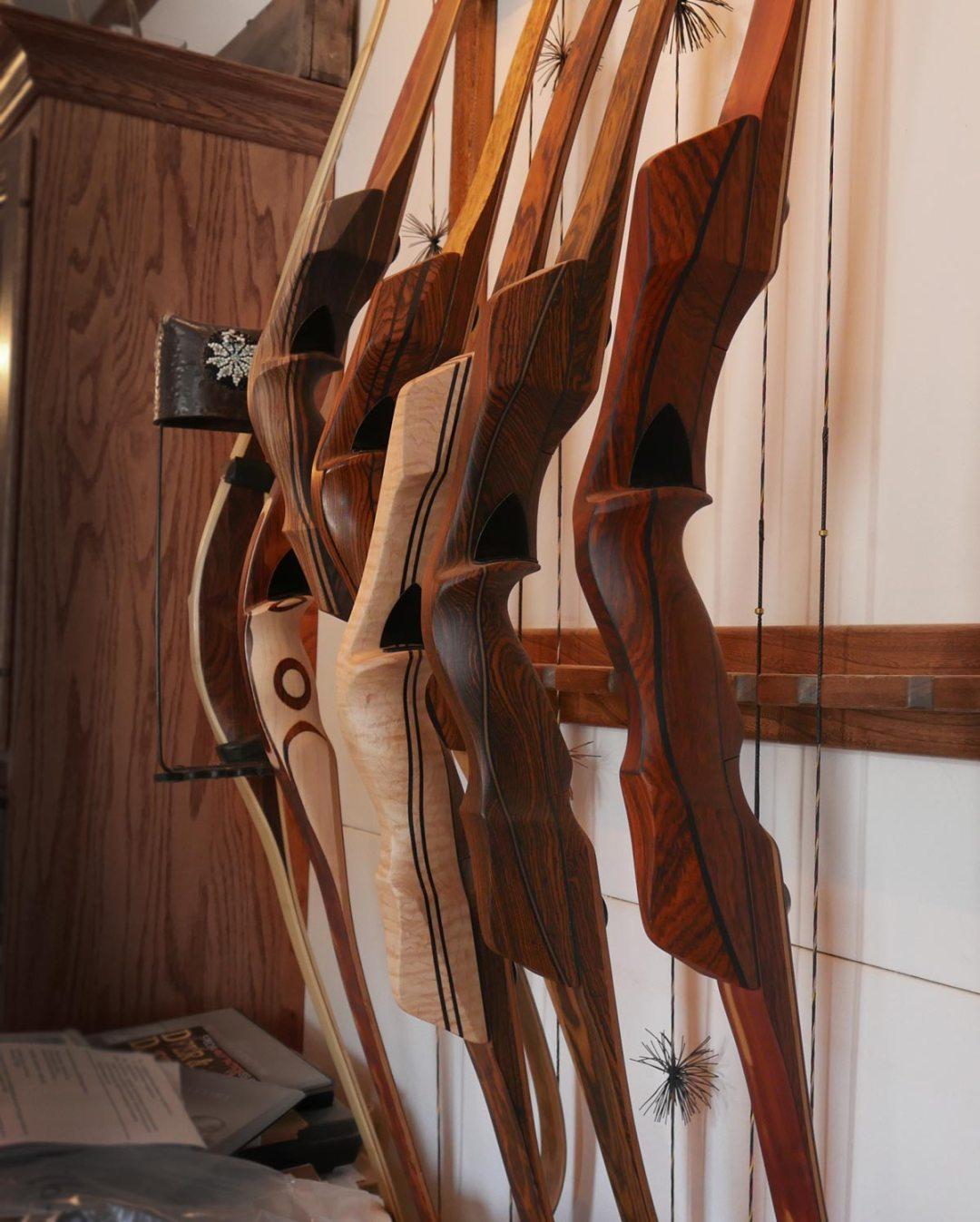 Handmade longbows