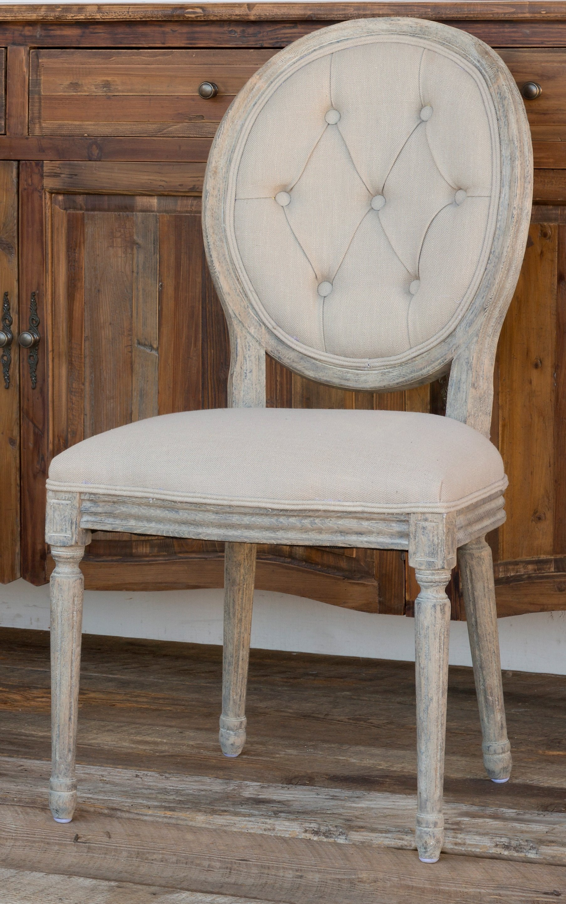 Tufted Back Dining Chair Set Of 2