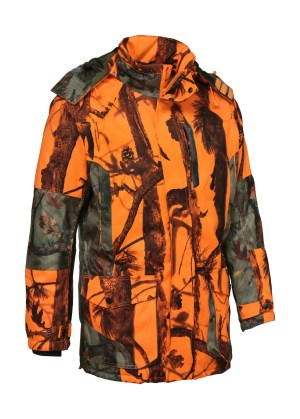Jacka Grand Nord Orange Camo (Percussion)