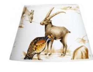 Lampskärm vilda djur