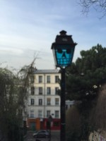 Spooky lamp - Montmartre