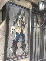 Pirate at La Taverne de Montmartre