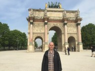 Arc du Triomphe du Carrousel, between the Louvre and the Jardin des Tuileries