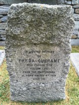 Freda Currant - Who passed into fuller life from the Matterhorn