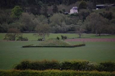 Ancient mound near Newgrange