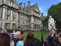 Tour of Trinity College by hipster Harry Potter
