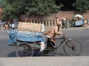Bike rickshaw delivery