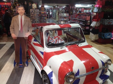 Mr. Bean and a Mini